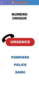 Troisièmement, en cas de nécessité, vous pourrez effectuer des appelsd'urgence. Cela fonctionne partout en Europe.