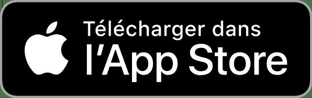 """bouton pour télécharger l'Application """"Je Signale"""" sur appstore"""